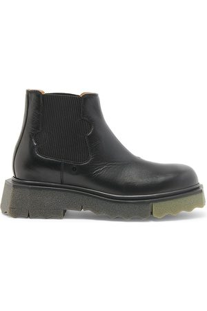 OFF-WHITE Leather Meteor ChelseaBoots
