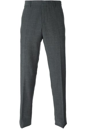 Lanvin Contrasted panel trousers - Grey
