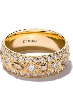 De Beers Jewellers 18kt Talisman diamond band