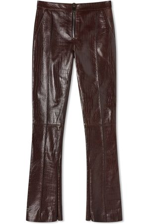 16Arlington High Rise Leather Trousers