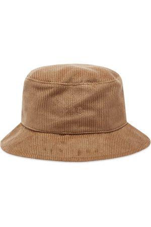 A.P.C. Men Hats - Alex Corduroy Bucket Hat
