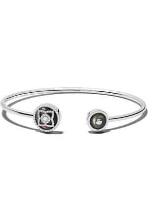 De Beers Jewellers 18kt diamond Enchanted Lotus bangle