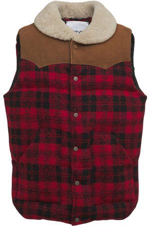 BLAST-OFF Check Puffer Vest