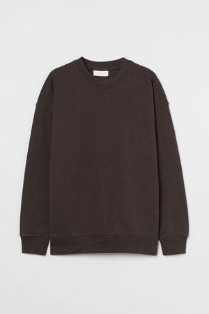 H & M Men Sweatshirts - Cotton Sweatshirt
