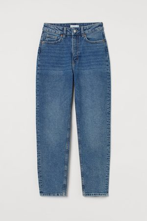 H & M Women High Waisted - Slim Mom High Ankle Jeans