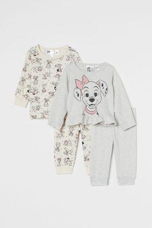 H & M Pajamas - 2-pack Flounced Pajamas