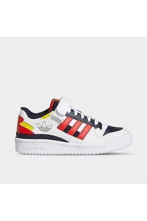 Adidas Big Kids' Originals Forum Low Casual Shoes in / Size 4.0 Leather