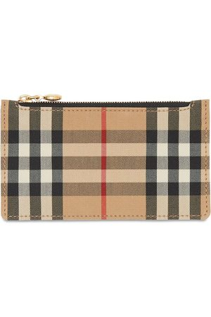 Burberry Somerset Vintage Check Leather Wallet
