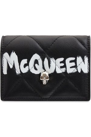 Alexander McQueen Quilted Nappa Card Holder W/ Chain