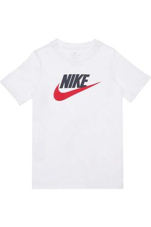 Nike Logo Print Cotton Jersey T-shirt