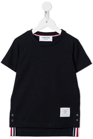 Thom Browne Kids Boys Short Sleeve - Jersey short sleeve T-shirt