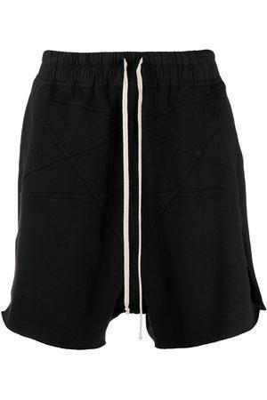Rick Owens Embroidered drawstring shorts