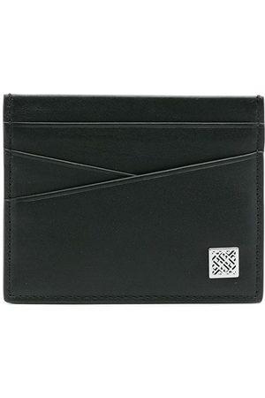 HUGO BOSS Logo-patch leather cardholder