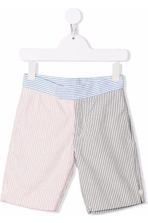 Thom Browne Seersucker bermuda shorts - Grey