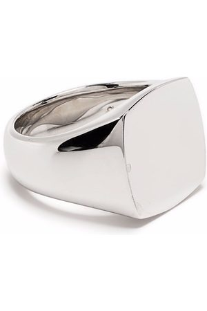 TOM WOOD Rings - Cushion polished signet ring