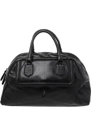 Bottega Veneta Intrecciato Leather Large Karung Bowling Bag