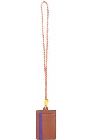 Etro Men Wallets - Leather badge holder