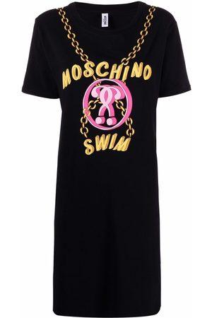 Moschino Logo-print T-shirt dress