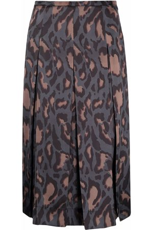 Pinko Animal-print skirt - Grey