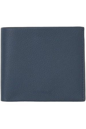 Burberry Logo-debossed bi-fold wallet
