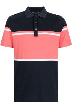 Michael Kors Colour-Block striped polo shirt