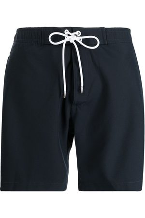Michael Kors Solid pocket-detail swim shorts