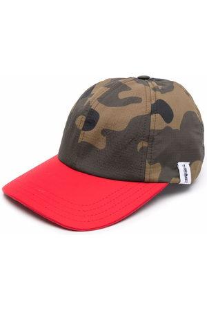 Mackintosh Caps - RAINTEC and nylon camouflage cap