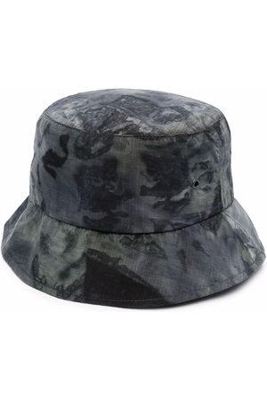 MACKINTOSH Men Neckties - Tie-dye nylon bucket hat - Grey