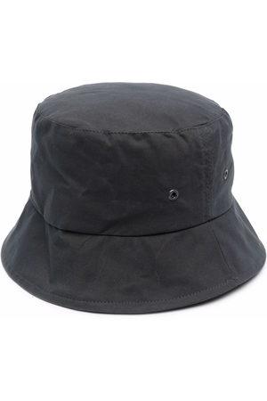 MACKINTOSH Hats - Waxed cotton bucket hat - Grey