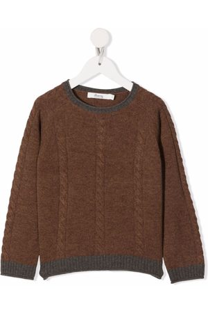 BONPOINT Cable knit recycled wool jumper