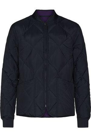Kenzo Diamond-quilting reversible bomber jacket