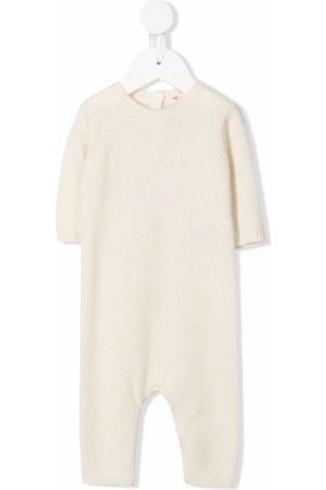 BONPOINT Baby Rompers - Cashmere knitted romper - Neutrals
