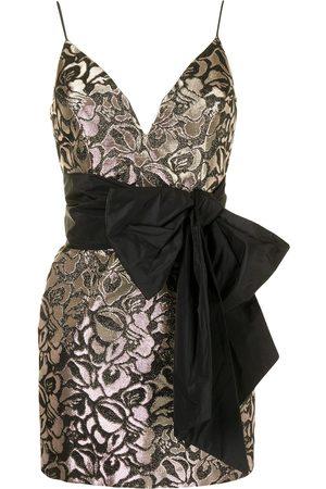Rebecca Vallance Carmel V-Wire midi dress
