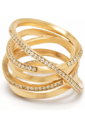 COMPLETEDWORKS Women Rings - Crystal embellished multi-ring
