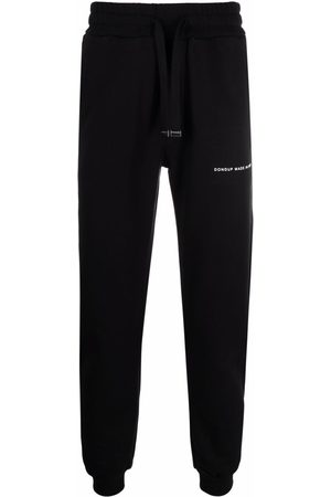 DONDUP Men Sweatpants - Logo-print cotton track trousers
