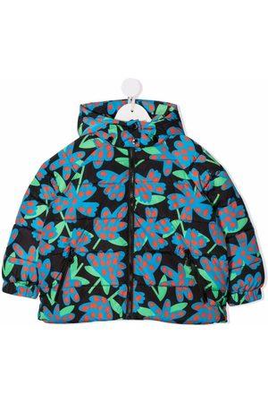 Stella McCartney Spotty flowers-print puffer jacket