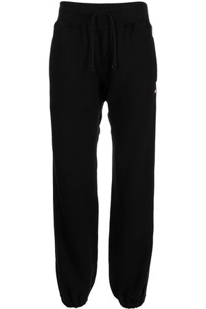 UNDERCOVER Logo-patch drawstring track pants