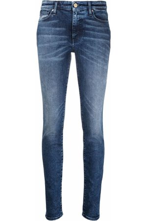 Armani Exchange Faded slim-cut jeans