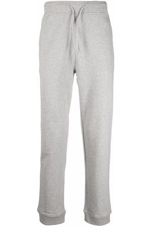 A.P.C. Straight-leg cotton track pants - Grey