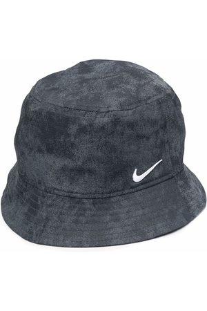 Nike Embroidered-logo bucket hat - Grey