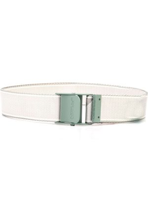 Off-White Striped Industrial belt