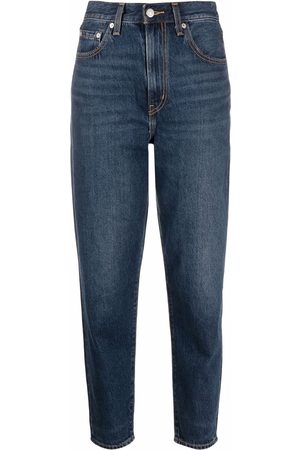 Levi's Cropped tapered-leg jeans