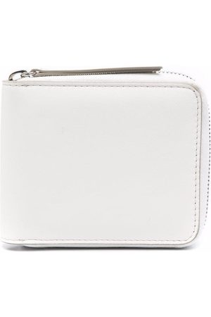 Maison Margiela Zip-around leather wallet