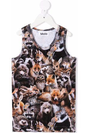 Molo Animal print tank top