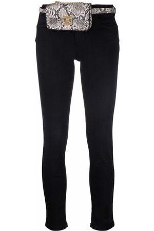 LIU JO Skinny-cut belt-bag jeans