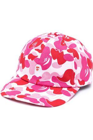 A BATHING APE® Camouflage-print cap