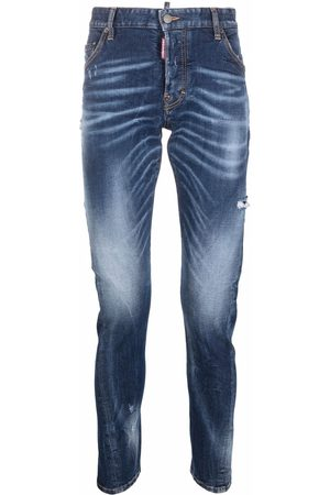 Dsquared2 Men Skinny - Sexy Twist whiskering-effect skinny jeans