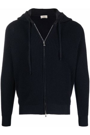 Altea Zip-up chunky-knit hooded jumper