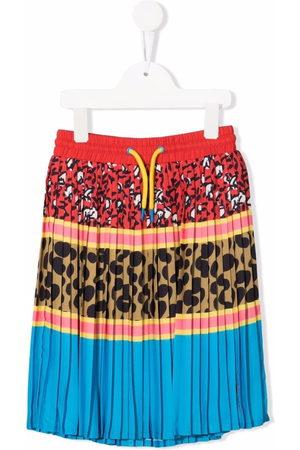The Marc Jacobs Kids Multi-pattern pleated mini skirt