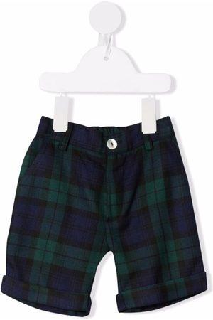 Mariella Ferrari Shorts - Check-print knee-length shorts